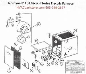 E1eh023h Nordyne Electric Furnace Parts  U2013 Hvacpartstore