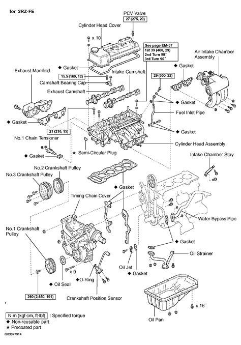 2004 toyota tacoma cylinder diagram 35 wiring diagram