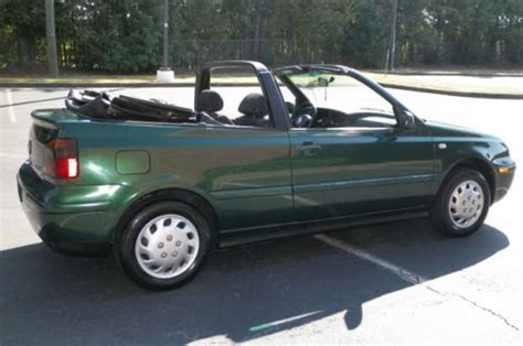 volkswagen convertible 2000 buy used 2000 vw cabrio gl convertible 5 speed manual