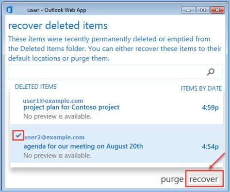 Office 365 Recover Deleted Items by Recover Deleted Mail Items In Office 365 Office 365 Support