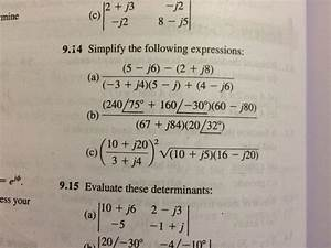 Math - Simple Problem With Phasors