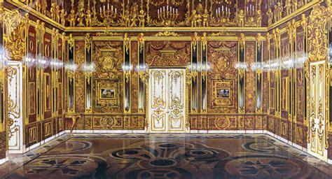 chambre d ambre la fameuse chambre d ambre russe reconstituée à