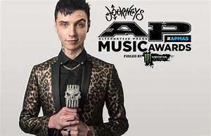 Andy Biersack to host 2017 Alternative Press Music Awards ...