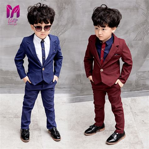 Aliexpress.com  Buy Boy Dress Fashion 2017 Cost effective suit Wedding children u0026#39;s suit Kids ...