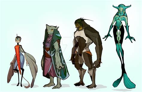 Nubrian Concepts 2- Clothing By Laceycrombie On Deviantart