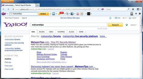 Remove Yahoo Search And Search.yahoo.com Redirect (uninstall Guide