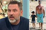 David Walliams joked to Simon Cowell his son Eric, 4 ...