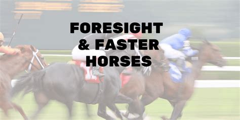 servant leadership foresight faster horses