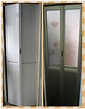 浴室/廚房鋁質摺門(巴士門) - 群聲綱閘公司鋁窗工程服務