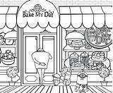 Bakery Coloring Clipart Minion Cake Printable Minions Drawing Baker Activities Cupcake Getcolorings Grus Stuart Banana Webstockreview Clipground Superstore sketch template