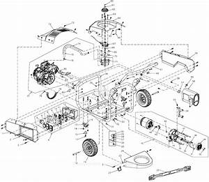 Generac 0060010  Lp5500  Parts Diagram For Full Assembly