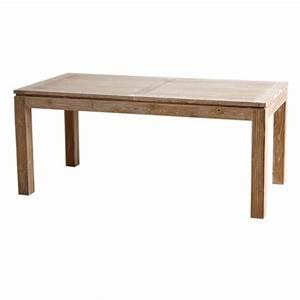 table repas extensible en teck macao origin39s meubles With salle a manger en teck