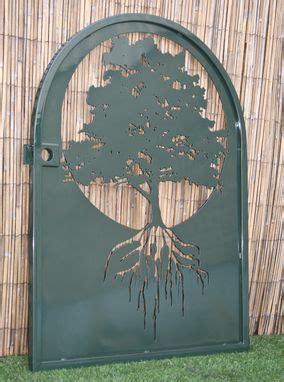 buy  hand  metal art gate tree  life wall panel