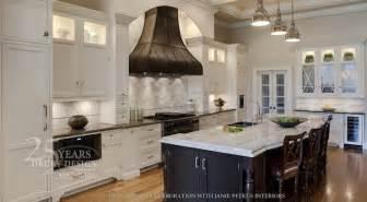 black granite kitchen island quartzite countertops transitional kitchen drury designs