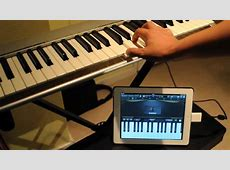 How to connect MAudio Keystation 49e with an iPad YouTube