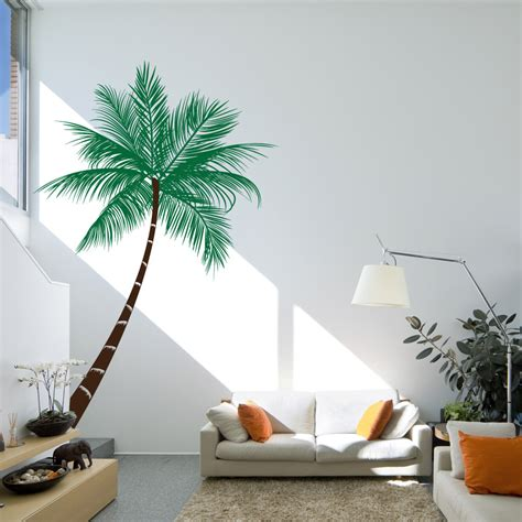 wall decal beautiful palm tree decal for wall giant palm