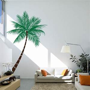 Wall decal beautiful palm tree decal for wall palm tree for Beautiful palm tree decal for wall