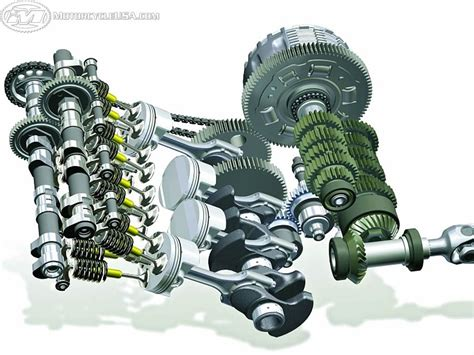 Here S A Look At The Vital Internals Of The K1200s Motor