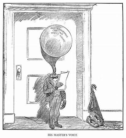 Coolidge Cartoon Calvin 1926 Rollin Kirby President