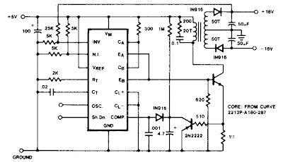 Flyback Converter Circuit Diagram Electronic