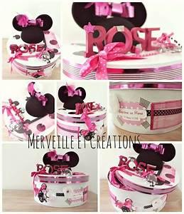 urne bapteme theme minnie mouse boite pinterest With salle de bain design avec décoration d anniversaire minnie