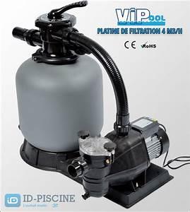 Pompe A Sable Pas Cher : platine de filtration sable vipool 4 m3 h livraison ~ Dailycaller-alerts.com Idées de Décoration