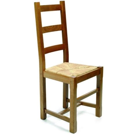 chaise en bois rustique chaise de salle à manger en bois rustica