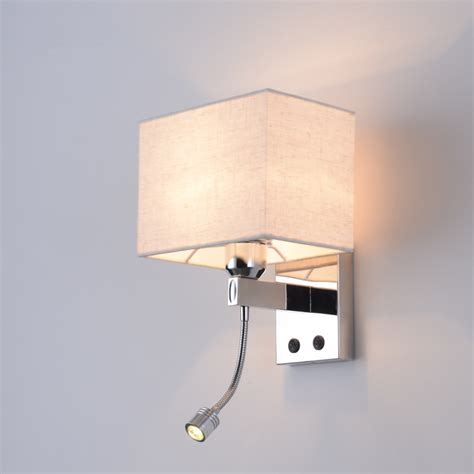 2017 new 3w led unlimited dimming wall light bedside