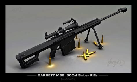 Barrett Bmg by Cool Images Barrett M82 Rifle