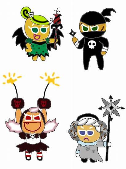 Evil Cookies Cookie Run Characters Witch Princess