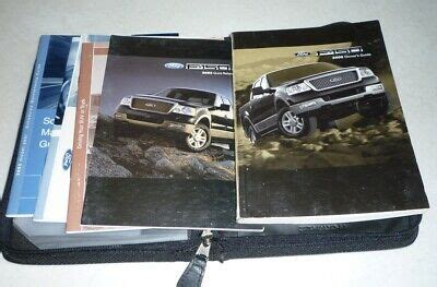 ford    owners manual set guide  wcase xlt