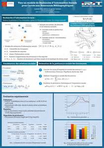 scientific poster template un modèle de recherche d information sociale thoughts on