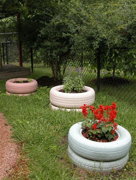 Garten Deko Autoreifen by Gartendeko Basteln Den Garten Originell Dekorieren