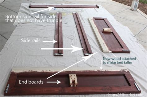 bed frame for boy how to build a bed with trundle ikea hack