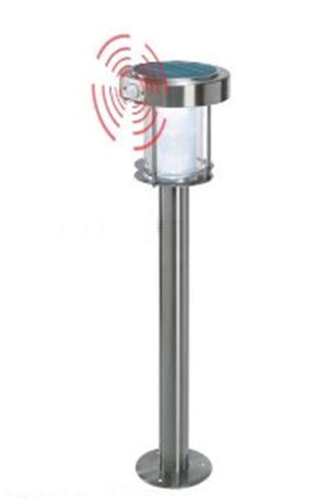 kann 2 bewegungsmelder an eine le anschließen solarleuchte ancona edelstahl mit bewegungsmelder