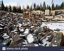 quarry rock crushing machine