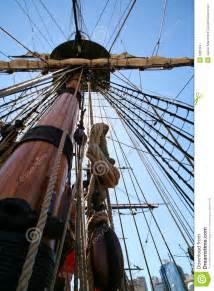 pirates ship mast stock photo image  backlit ship