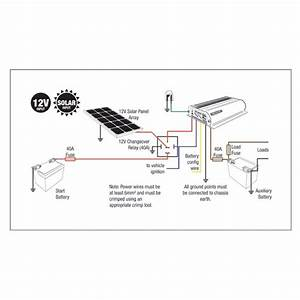 How To Connect Solar To A Bcdc1220 Redarc