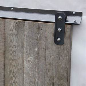 sliding door track set and sliding door track cover lowes With barn door track cover