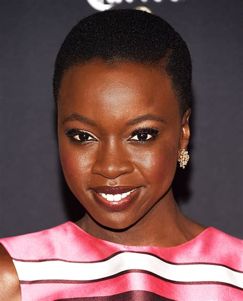 makeup artist get danai gurira 39 s makeup from the walking dead premiere