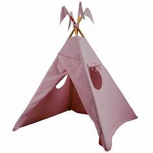 Tipi Petite Fille : tipi rose p le num ro 74 pour chambre enfant les enfants du design ~ Teatrodelosmanantiales.com Idées de Décoration