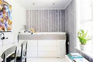 Ikea Hacks Podest : hochbett selber bauen mit ikea m beln betten mit stauraum ~ Watch28wear.com Haus und Dekorationen