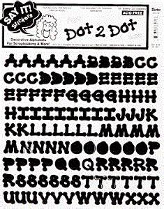 dot 2 dot letter stickers 5 8 inch black for sale by With 2 inch letter stickers