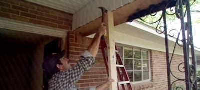 How To Replace Front Porch Columns by How To Replace A Wrought Iron Porch Column Today S Homeowner