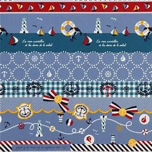 Was Bedeutet Maritim : blauer maritim kokka canvas stoff schiff leuchtturm maritime stoffe stoffe shop modes4u ~ Markanthonyermac.com Haus und Dekorationen