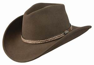 Conner Handmade Hats Cowboy Western Style: Wool with Hat