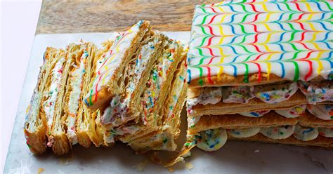 ✓ free for commercial use ✓ high quality images. Recipe: Funfetti Napoleon Cake