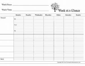 6 best images of day at a glance printable day at a for Day at a glance calendar template
