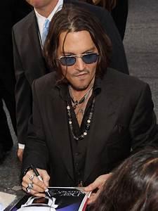 Johnny Depp in Celebs at the 'Dark Shadows' Premiere in LA ...