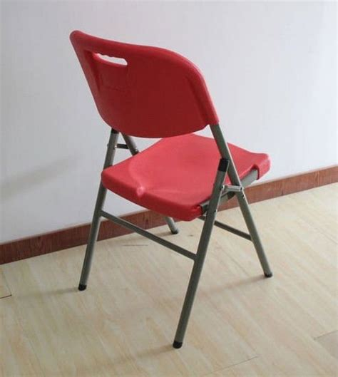 outdoor plastic bright colored folding chair sy 52y 05
